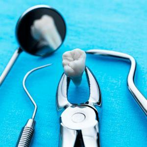 инструмент для удаления зубов